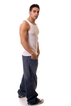 undershirt: Casual Man