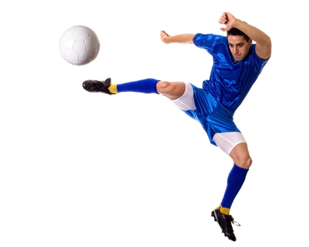 Soccer Player Stock Photo - 12295196