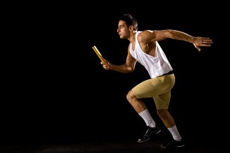 relay baton: Relay Race