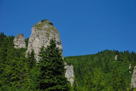 sentinel: the sentinel of the ceahlau mountains