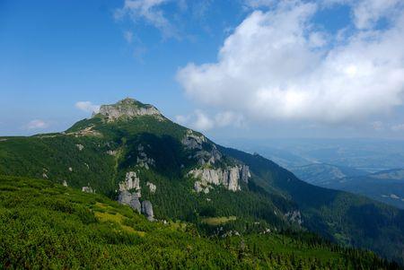 sentinel: Toaca peak, the sentinel and