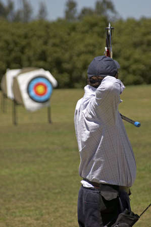 Archer - Archer in Focus, Target out of focus