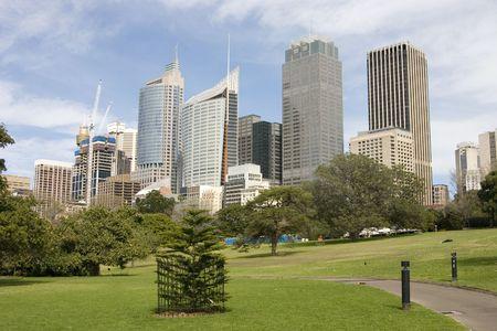 Sydney Skyline Standard-Bild