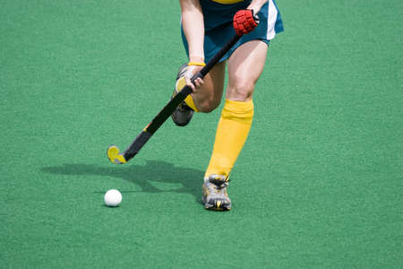 Hockey Standard-Bild