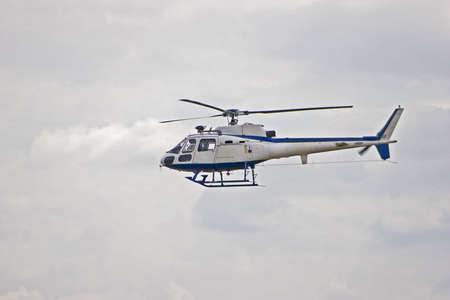 Squirrel Helicopter in flight Standard-Bild