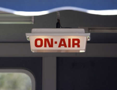 on air sign: On Air Sign