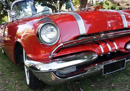 A classic 50's car