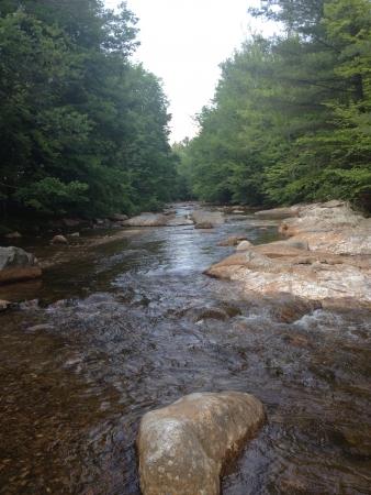 hampshire: New Hampshire lugares Foto de archivo