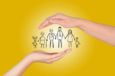 family insurance gesture