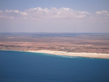 Coasts of Somalia Stock Photo