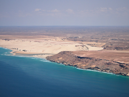 Coasts of Somaliaaerial view