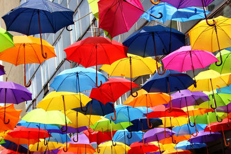 Umbrellas Stockfoto