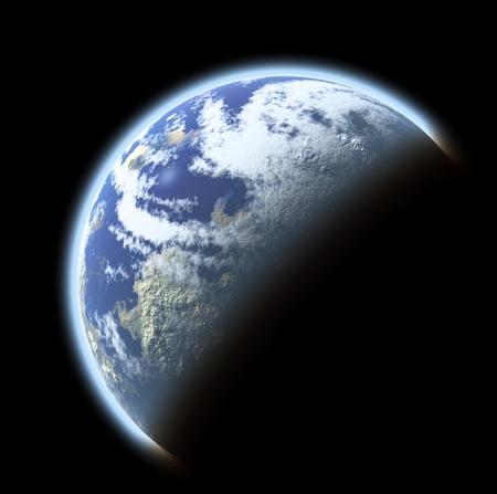atmosphere: pianeta Terra vista dallo spazio