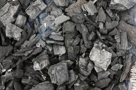coals: Smoking grill charcoal