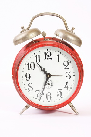 Vintage alarm clock photo