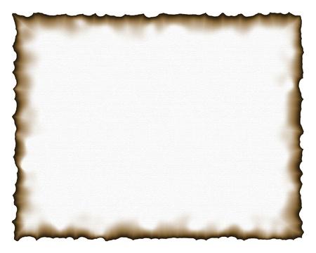 Brûlé illustration texture du papier