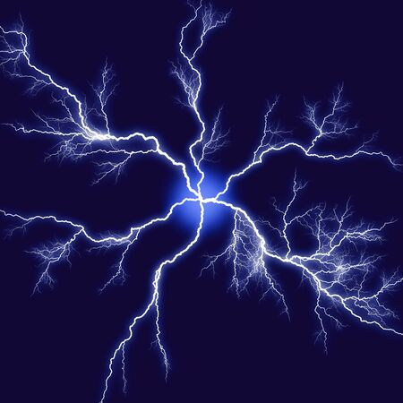 bstract: Abstract lightning Stock Photo