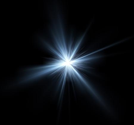 Bright light burst illustration