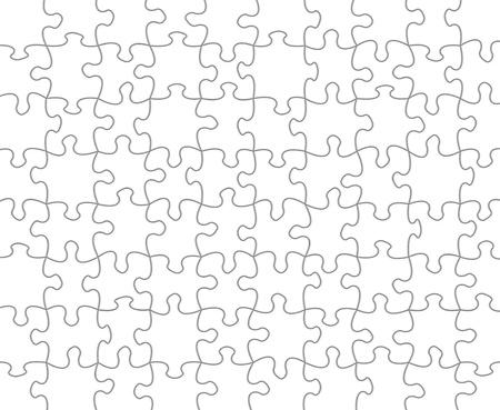 Blank puzzle background photo