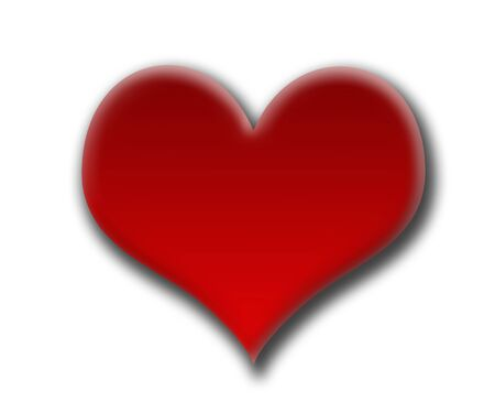 felling: Red heart valentine