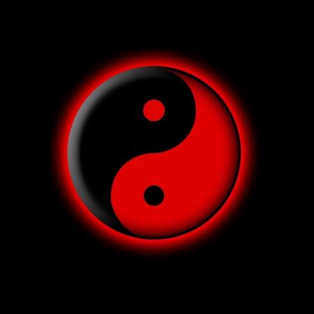 metaphysic: Yin yang illustration