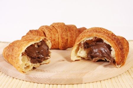 fill: Chocolate croissant