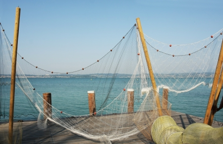 fishing industry: Fishing nets