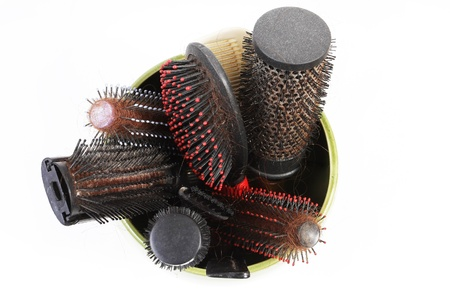 Hair loss concept