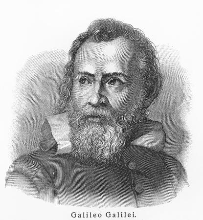Galileo Galilei - Imagen de los libros Léxico Meyers escrito en lengua alemana. Colección de 21 volúmenes publicados entre 1905 y 1909.