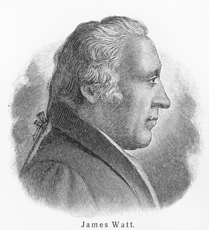 james: James Watt - Picture from Meyers Lexicon books written in German language. Collection of 21 volumes published  between 1905 and 1909.