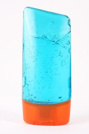 hair styling: Hair gel bottle