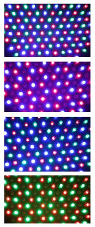 leds: Collage de luz LED