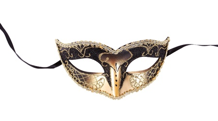 carnival mask: Venetian carnival mask isolated  Stock Photo