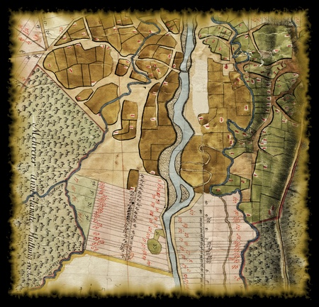 18th century: 18th century old map