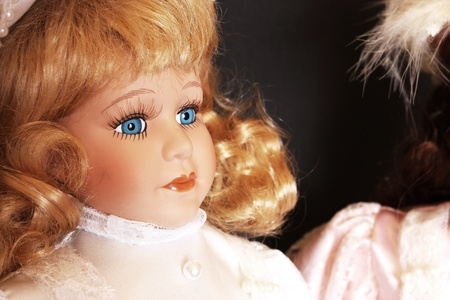 Porcelain doll detail Stock Photo - 11713979