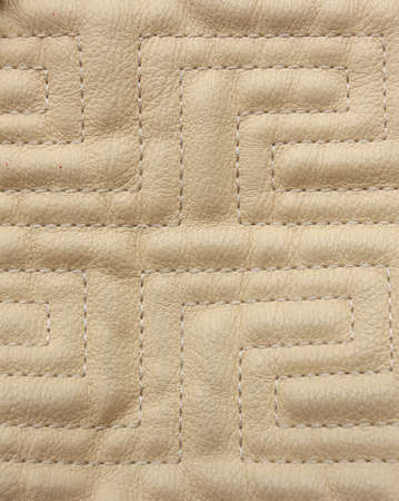 Sewed leather detail Stock Photo - 11713993