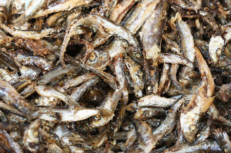 Fried detalles de anchoas photo