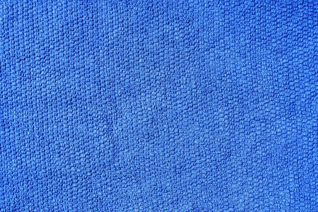 Blue cotton fabric texture  Standard-Bild