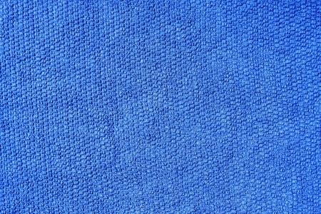 Blue cotton fabric texture  Banque d'images