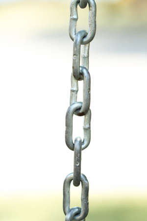 welds: Metal chain detail