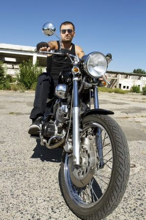 Motorcycle Rider photo