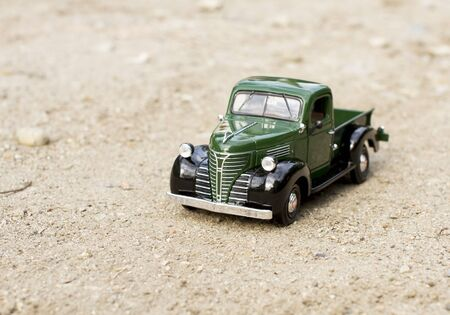 toy truck: Retro truck toy car