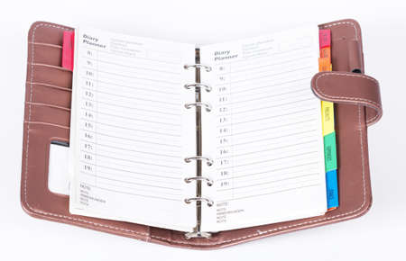 open diary: Business notebook