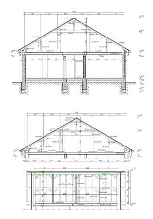 engeneering: House blueprints plans