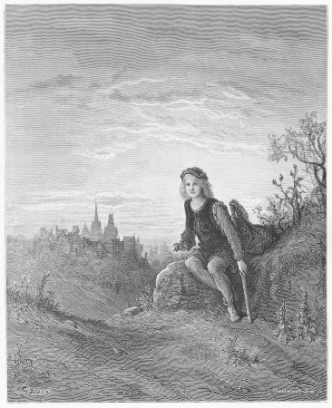 Whittington at Highgate - Gustave Dore s 1872 London  a Pilgrimage Editorial
