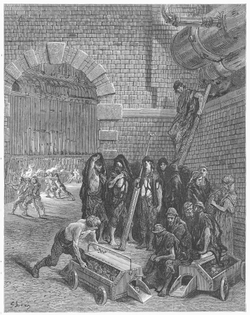 Lambeth Gas Works - Gustave Dore s 1872 London  a Pilgrimage