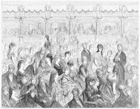 The stalls, Covent Garden opera - Gustave Dore s 1872 London  a Pilgrimage Editorial