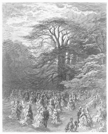 19th century: A Chiswick fete - Gustave Dore s 1872 London  a Pilgrimage