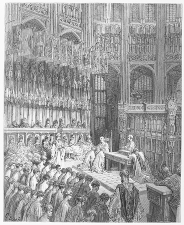 Westminster Abbey - Gustave Dore s 1872 London  a Pilgrimage