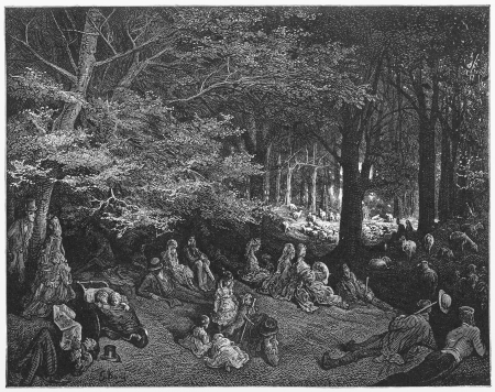 19th: Regents Park, Under the Trees - Gustave Dore s 1872 London  a Pilgrimage Editorial